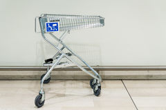 Shopping trolley for disabled Royalty Free Stock Photo