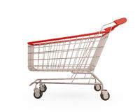 Shopping trolley i Royalty Free Stock Photos