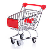Shopping trolley Royalty Free Stock Photography