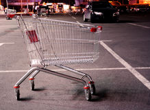 Shopping trolley Stock Images