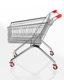 Shopping trolleys Stock Photo