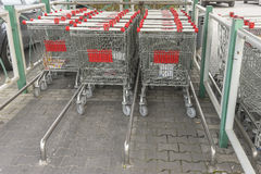 Shopping trolleys Royalty Free Stock Photo