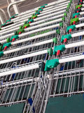 Shopping trollies Royalty Free Stock Images