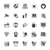 Shopping Vector Icons 2 Stock Images