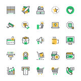 Shopping Vector Icons 2 Royalty Free Stock Photography