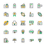 Shopping Vector Icons 4 Royalty Free Stock Photography