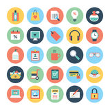 Shopping Vector Icons 4 Stock Photography