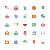 Shopping Vector Icons 5 Royalty Free Stock Photo