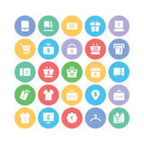 Shopping Vector Icons 8 Royalty Free Stock Photos
