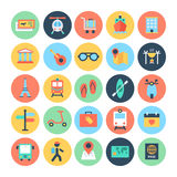 Shopping Vector Icons 2. Safe Travelling We are offering you a set of Travel Vector icons that you can use it in your Travel, hoteling and tour related design Stock Photography