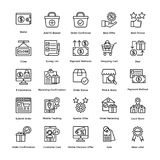 Shopping Vector Icons Set 5 vector illustration