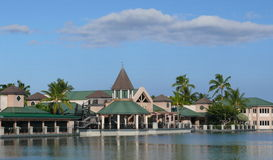 Shopping village, Waikoloa, Big Island, Hawaii Royalty Free Stock Images