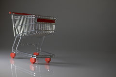 Shopping Wagon Cart Stock Photography