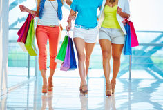 Shopping walk Stock Photos