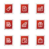 Shopping web icons Royalty Free Stock Photos