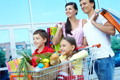 Shopping weekend Stock Image