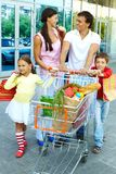 Shopping weekend Royalty Free Stock Images