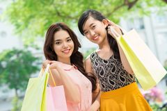 Shopping weekend Royalty Free Stock Image