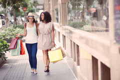Shopping weekend Stock Images