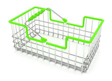 Shopping Wire Basket Royalty Free Stock Photography