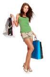 Shopping woman. Royalty Free Stock Image