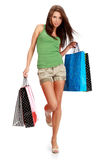 Shopping woman. Royalty Free Stock Photos