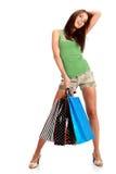 Shopping woman. Stock Image