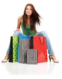 Shopping woman. Stock Images