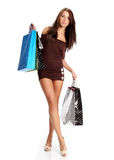Shopping woman. Stock Photography