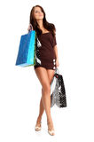 Shopping woman. Stock Photo