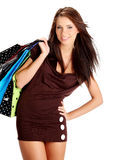 Shopping woman. Royalty Free Stock Photography
