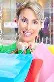 Shopping  woman Stock Photo