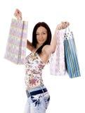 Shopping Woman. Royalty Free Stock Photos