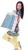 Shopping Woman. Royalty Free Stock Photo