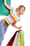 Shopping  woman Stock Photos
