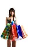 Shopping woman Stock Photos