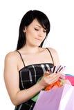Shopping woman Royalty Free Stock Photos