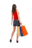 Shopping Woman Royalty Free Stock Photo