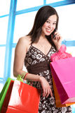 Shopping woman Royalty Free Stock Image