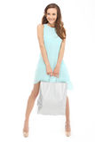 Shopping woman with bag. Stock Images