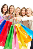Shopping  women Royalty Free Stock Photos