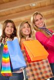 Shopping women Stock Photos