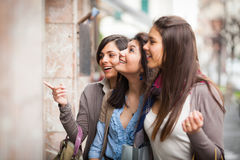 Shopping Women Stock Images