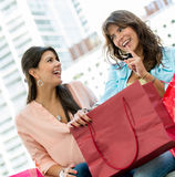 Shopping women Royalty Free Stock Images