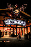 Shopping at World of Disney in Downtown Disney. Royalty Free Stock Image