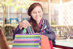 After shopping Stock Photos