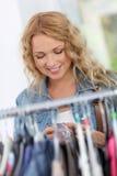 shoppingaholic Fotografering för Bildbyråer