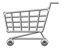 shoppingcart Obraz Stock
