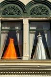 shoppingfönster royaltyfri fotografi