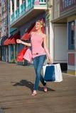 shoppingfest Royaltyfria Bilder